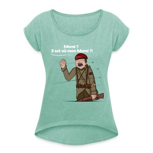 Sgt.Flantier 1940 - T-shirt à manches retroussées Femme