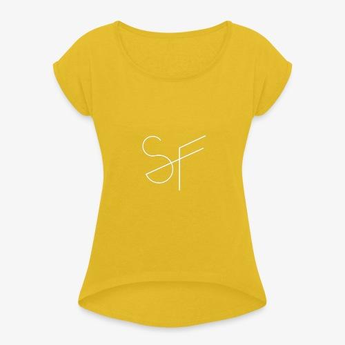SMAT FIT SF FEMME - Camiseta con manga enrollada mujer