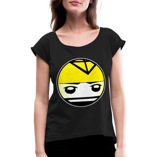 kite Logo T-Shirt - Dame T-shirt med rulleærmer