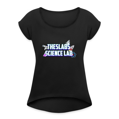 TheSlabs Science Lab Logo - Maglietta da donna con risvolti