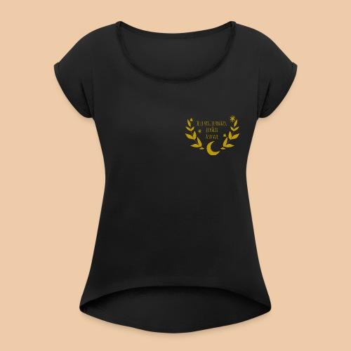 Phèdre - T-shirt à manches retroussées Femme