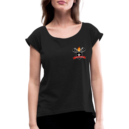 Team Elsass Racing - T-shirt à manches retroussées Femme