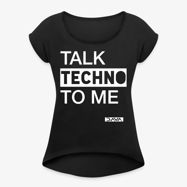 Talk Techno - white