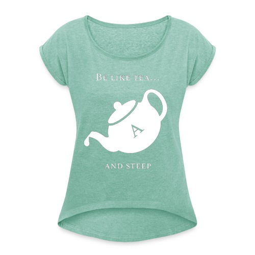 hmmn - Women's T-Shirt with rolled up sleeves