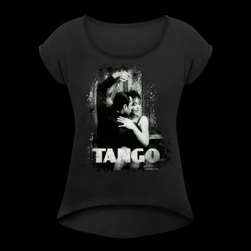 Tango - Camiseta con manga enrollada mujer