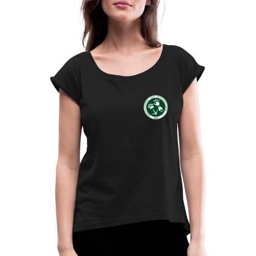 BdZ Logo - Frauen T-Shirt mit gerollten Ärmeln