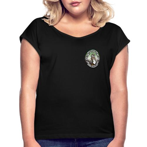 Logo Original-2 - Camiseta con manga enrollada mujer