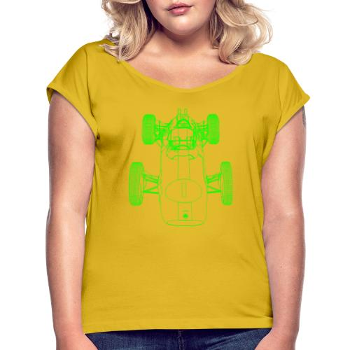 Formula Racing - Women's T-Shirt with rolled up sleeves