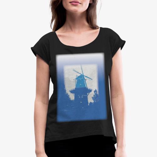 Mills blue - Maglietta da donna con risvolti