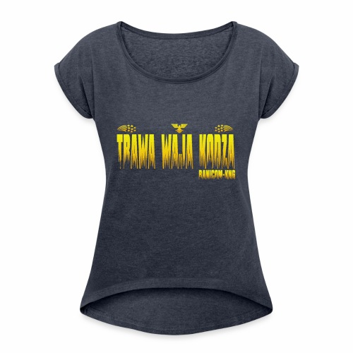 KNG JN - T-shirt à manches retroussées Femme