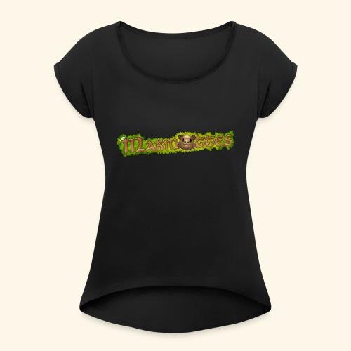 marmottes logo HD - T-shirt à manches retroussées Femme