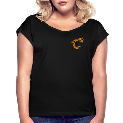 STAR GAME CREW GENERAION EMBLEME 4 - T-shirt à manches retroussées Femme