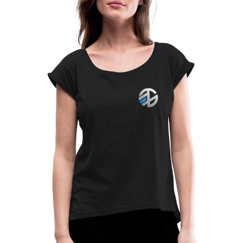 EHZRAEL - T-shirt à manches retroussées Femme
