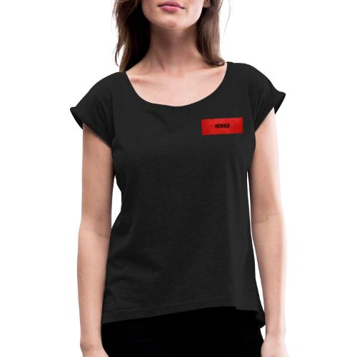 Member - Frauen T-Shirt mit gerollten Ärmeln