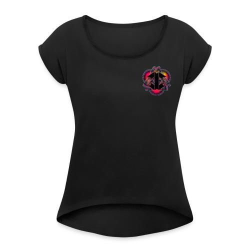 Trinityx Factory - T-shirt à manches retroussées Femme