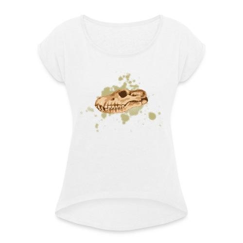 Jugg - Frauen T-Shirt mit gerollten Ärmeln