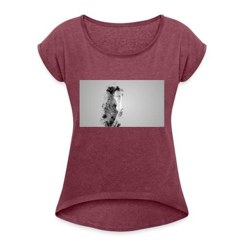 Art et Design - T-shirt à manches retroussées Femme