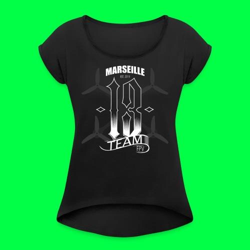 TEAM13 FPV tshirt - T-shirt à manches retroussées Femme