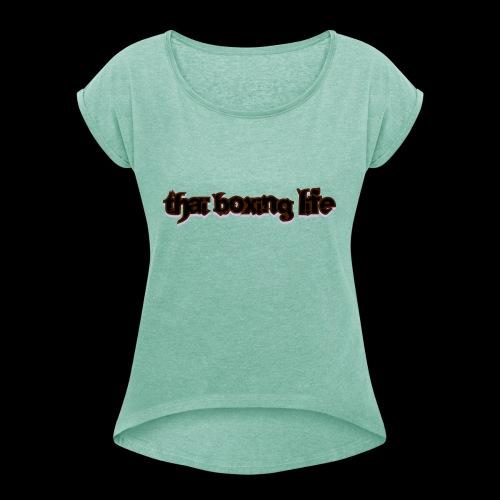 MTS92 THAI BOXING LIFE - T-shirt à manches retroussées Femme