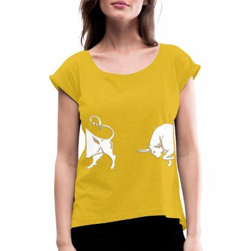 TORO 2 - BULL 2 - Maglietta da donna con risvolti