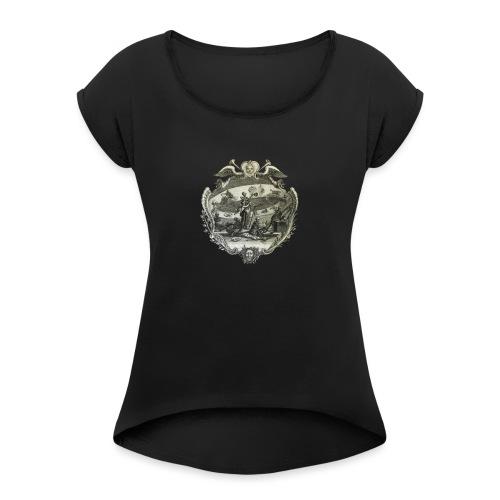 alchemy - Maglietta da donna con risvolti