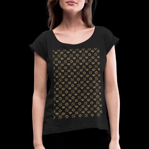 SessantaNove Logo Classico - Maglietta da donna con risvolti