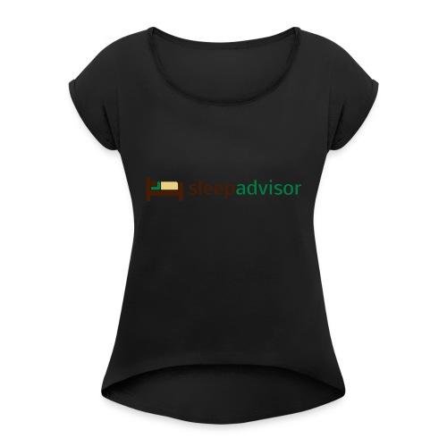 SleepAdvisor - Maglietta da donna con risvolti