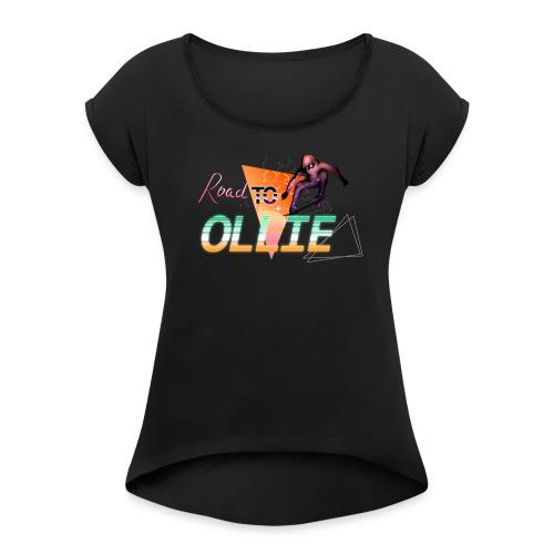 Roadtoolisca - T-shirt à manches retroussées Femme