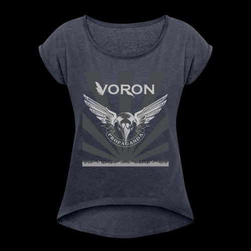 Voron - Propaganda - T-shirt à manches retroussées Femme
