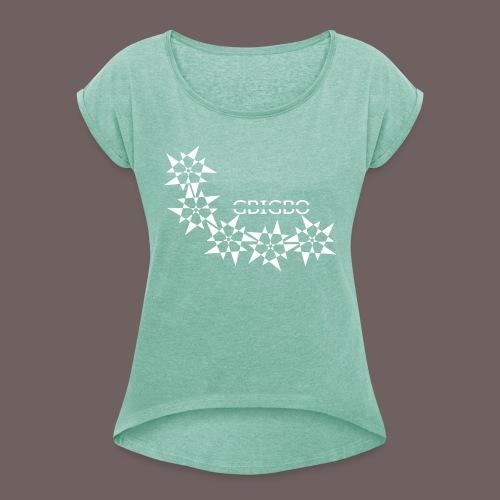 GBIGBO zjebeezjeboo - Rock - Pointy Stars - T-shirt à manches retroussées Femme
