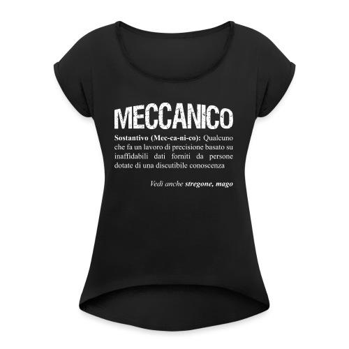 Meccanico = Mago? - Maglietta da donna con risvolti