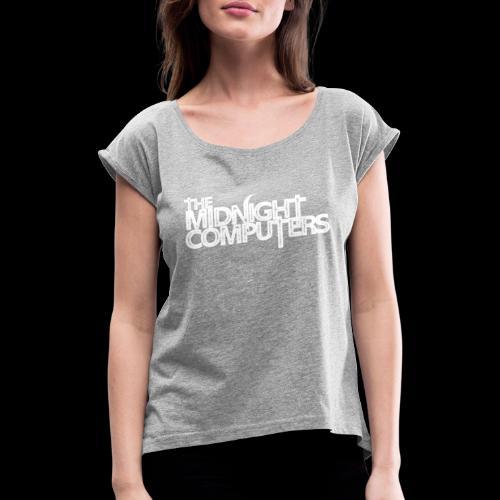 TMC2WHITE - T-shirt à manches retroussées Femme