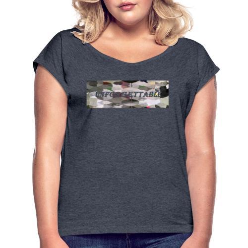 unforgettable - T-shirt à manches retroussées Femme