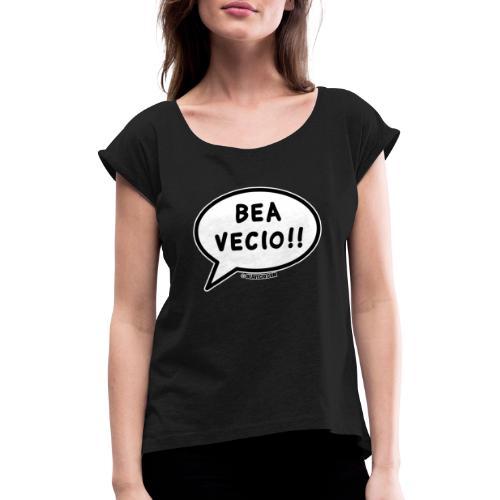 Bea Vecio Logo - Maglietta da donna con risvolti
