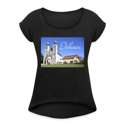 Baumburg - Frauen T-Shirt mit gerollten Ärmeln