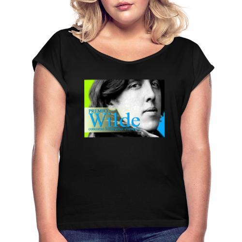 Wilde vintage 2031 - Maglietta da donna con risvolti