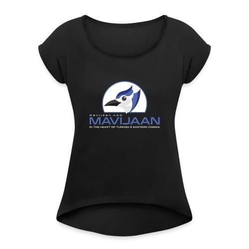 logo mavijaan HD - T-shirt à manches retroussées Femme