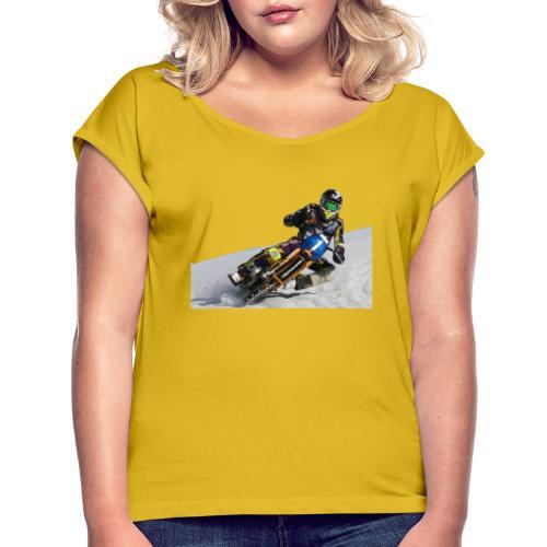 Max on Tour - Frauen T-Shirt mit gerollten Ärmeln
