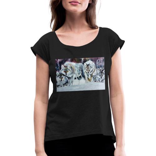 LUPI - Maglietta da donna con risvolti