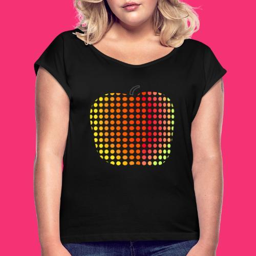 mela - Maglietta da donna con risvolti