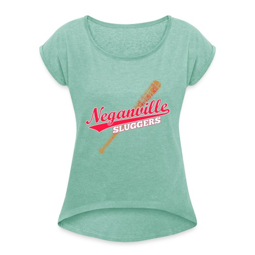 Neganville Sluggers - Women's T-Shirt with rolled up sleeves