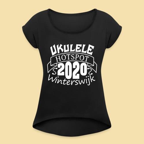 WW2020 - Frauen T-Shirt mit gerollten Ärmeln