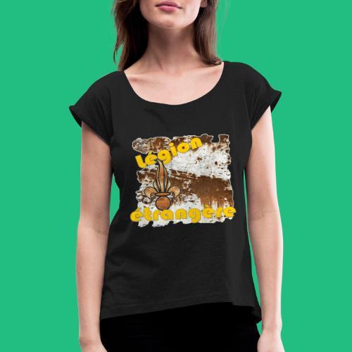 FLAMEO LEGION - T-shirt à manches retroussées Femme