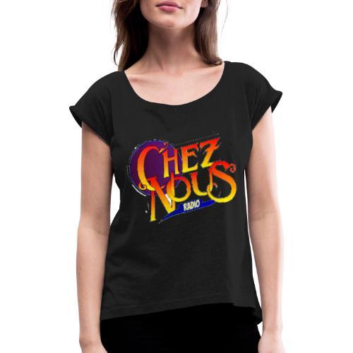Heart - T-shirt à manches retroussées Femme