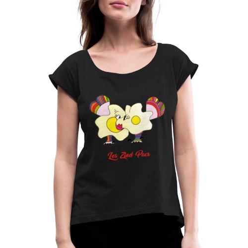 Les Ziod Pacs - T-shirt à manches retroussées Femme