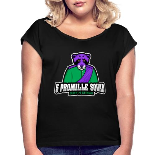 5 Promille Esport Team - Frauen T-Shirt mit gerollten Ärmeln