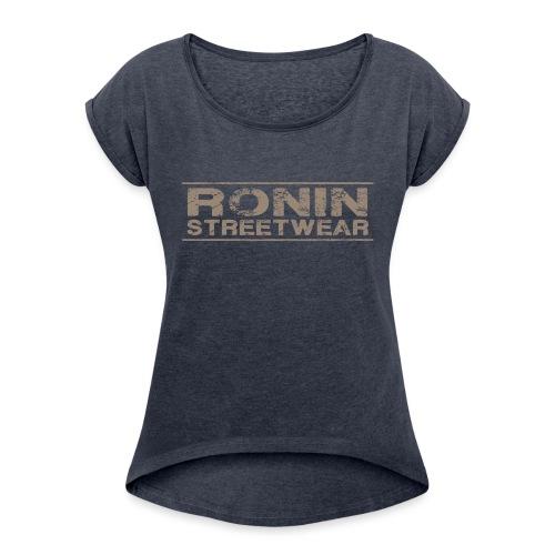 RONIN streetwear V03 - T-shirt à manches retroussées Femme