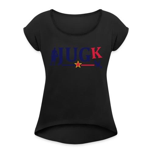 Basketball Yougoslavie - T-shirt à manches retroussées Femme