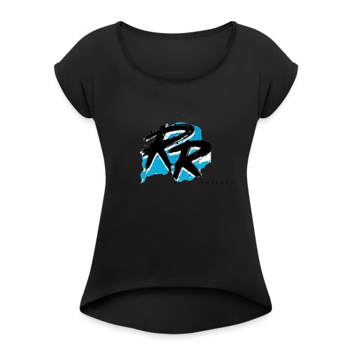 E739555A 606C 4B5D 9935 BD30E3AD60B8 - Women's T-Shirt with rolled up sleeves