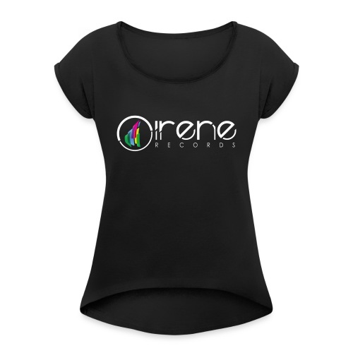 Irene Records T-schirt - Women's T-Shirt with rolled up sleeves